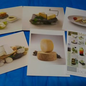 Set of 6 Maine Cheese Guild Greeting Cards