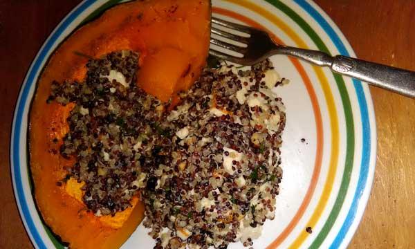 Squash Quinoa Recipe