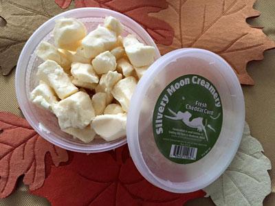 Fresh Cheddar Curd